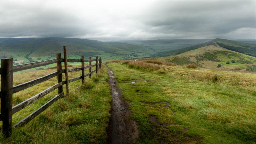 Mam Tor view Peak District