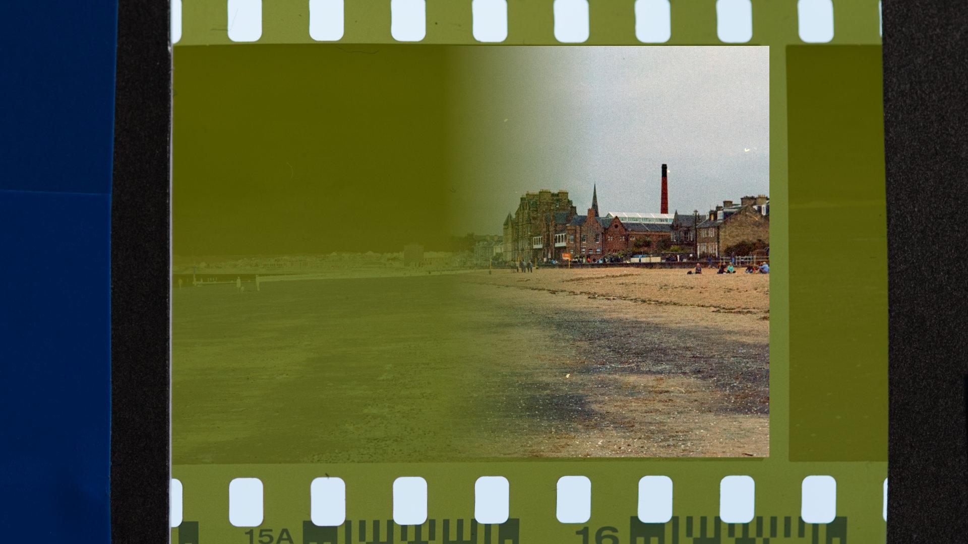 Lesson 4 - convert negative 35mm film